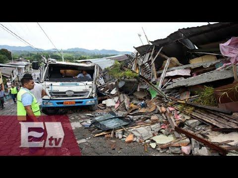 Terremoto de 6,7 grados sacude Ecuador