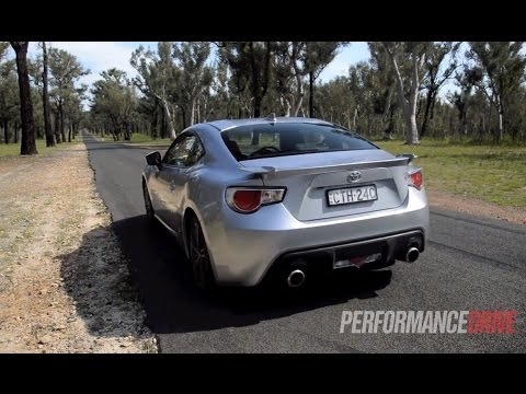 2015 Toyota 86 GTS 0-100km/h & engine sound