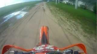 8. 2009 KTM 300xc First Ride