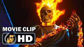GHOST RIDER Clips + Trailer (2007) Nicolas Cage Marvel Comics