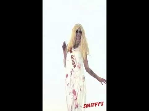 Déguisement zombie de la reine de la promo