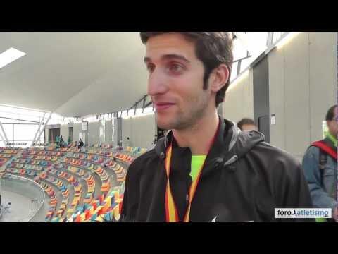 David Bustos campeón de España de 1500m