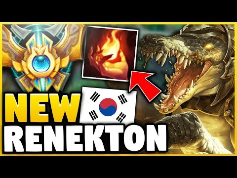 WTF! THIS RENEKTON BUILD HAS A 93% WINRATE IN CHALLENGER!?! (NEW OP STRATEGY) - League of Legends