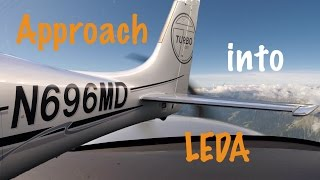 Flying With Cirrus ILS 31 And Go-Around LEDA (Lleida Airport) [FULL HD]
