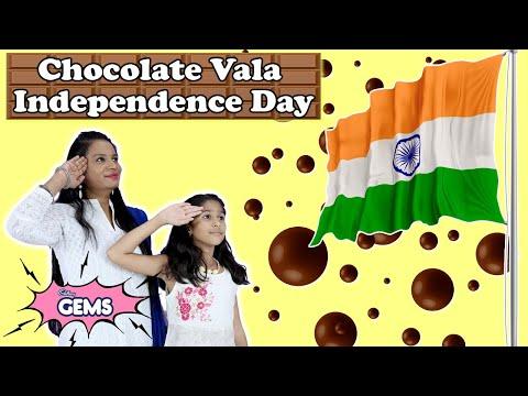 Pari Ka Chocolate Vala Independence Day   Pari Making #ColourfulTomorrow Art With Cadbury Gems