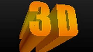 3D Text in Photoshop CS5 Extended (Photoshop CS5)