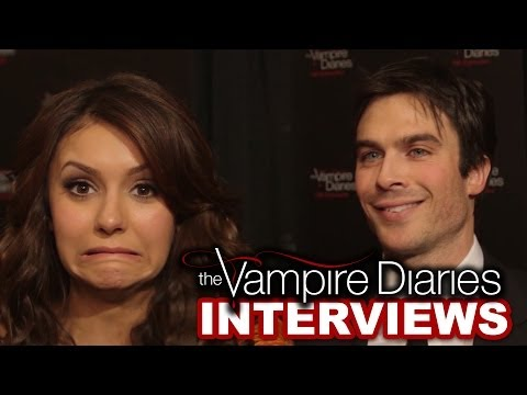 episodes - Ian Somerhalder, Paul Wesley & Nina Dobrev Celebrate 100 Vampire Diaries Episodes! We wish Jennifer Lawrence was our BFF. Here's why: http://youtu.be/4Jk1E-U...