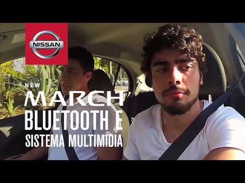 Nissan New March | Bluetooth e sistema multimídia