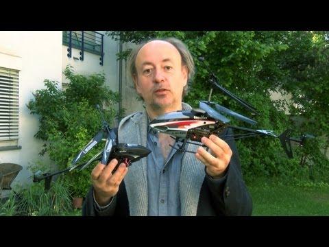 Ferngesteuerte Spionage-Hubschrauber: Pearl GH 300 und 303 im Test