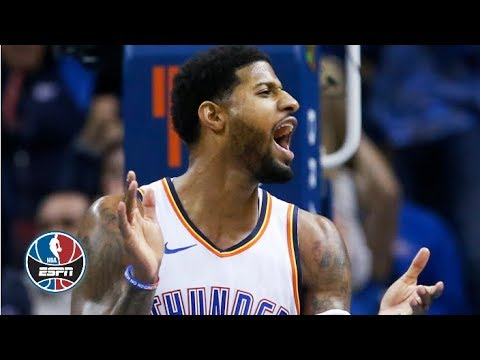 Video: Paul George drops 36, Damian Lillard scores 34 as Thunder top Blazers | NBA Highlights