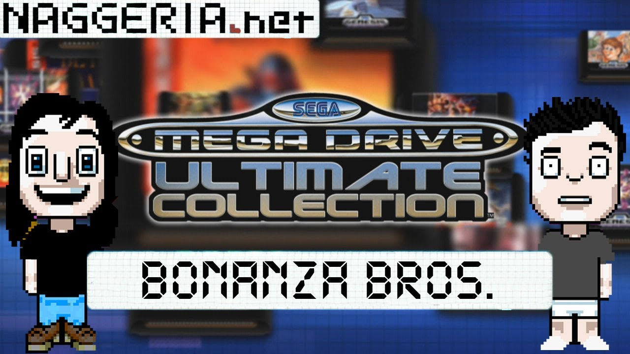 Spiele-Ma-Mo: Bonanza Bros. (Sega Mega Drive Ultimate Collection – Xbox 360)