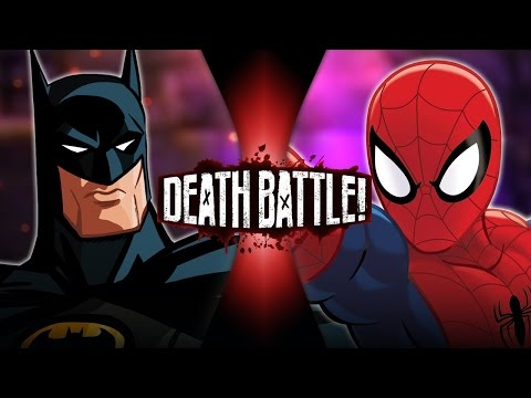 DEATH BATTLE - Batman VS Spider-Man Video