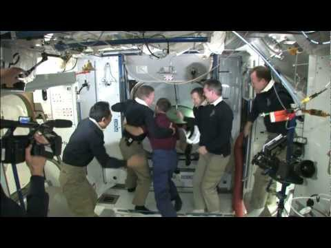 Inside the ISS - Time Lapse