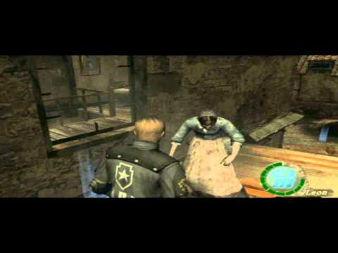 resident evil 4 playstation 2 cheat code