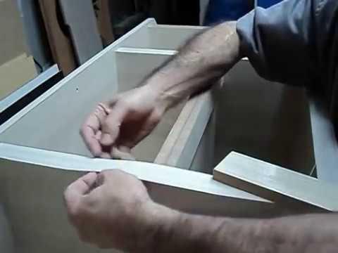 Curso Rack 1 - Aula 06/13 - Rack MDF - Filetar Refilar Limar Fita de B. - Curso Marcenaria Grát.