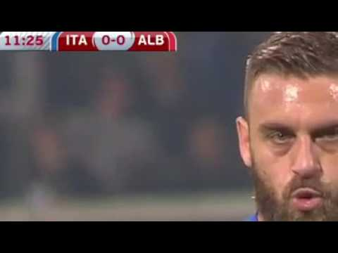 Italy Vs Albania 2 0 All Goals & Highlights   WC Qualification 24 03 2017