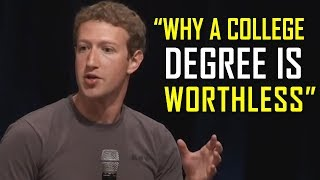 Video The Most Successful People Explain Why a College Degree is USELESS MP3, 3GP, MP4, WEBM, AVI, FLV Februari 2019