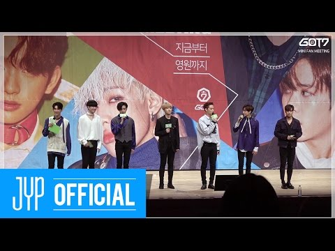 "Got7 Mini Fanmeeting ""from Now To The End"" Behind"