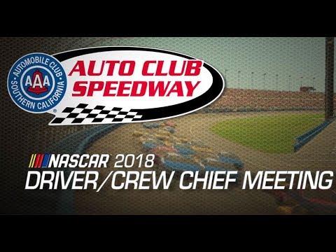 Drivers Meeting Video: Auto Club