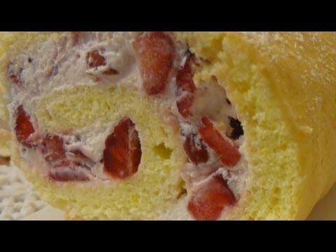 rotolo alle fragole - ricetta