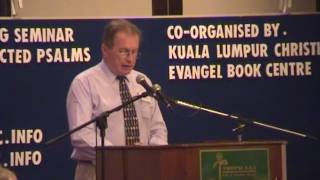 EPS 2004 Lecture 1 of 2 : D.A. Carson - Preaching from Selected Psalms
