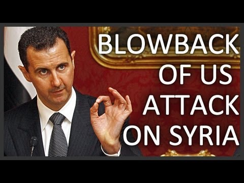 caspianreport - Repercussions of a US military strike on Syria http://www.youtube.com/watch?v=e8V7HjNXP5g Prominent US and European officials are accusing the Syrian Preside...