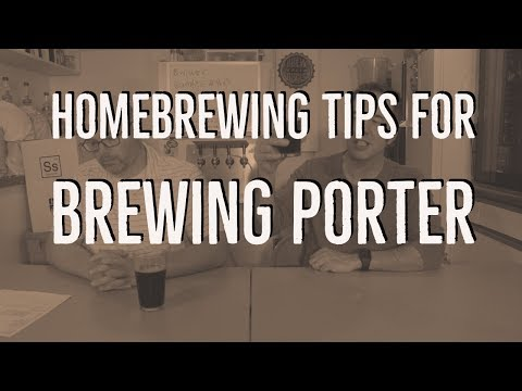 Tips for Homebrewing a Great Porter From These Brew Dudes
