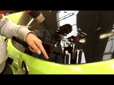 tinting a back window in less than 10 min