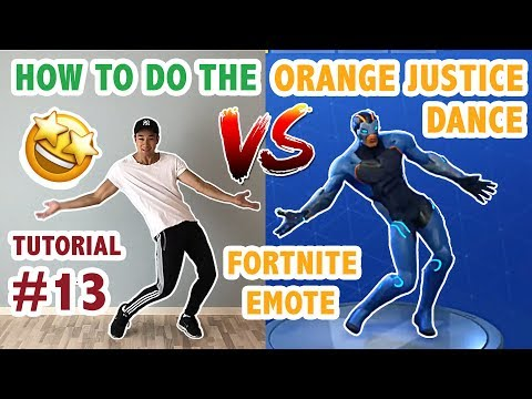 How To Do The Orange Justice Dance In Real Life Advanced Simple
