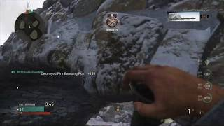 Call of Duty®  WWII destroying Fire Bombing with Bazooka