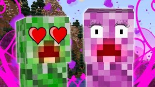 Minecraft | GIRL CREEPERS! |  New Baby Creepers&MORE! | Female Creeper Mod Showcase