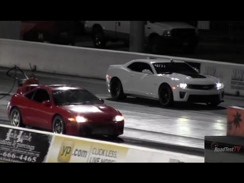 2013 ZL1 Camaro vs. Turbocharged Mitsubishi Eclipse GSX