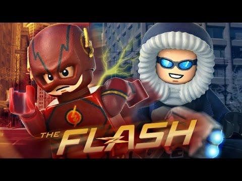 LEGO CW : The Flash & Captain Cold - Showcase