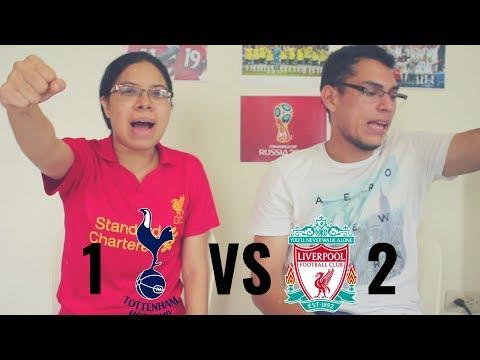 Reacción Tottenham vs Liverpool 15/09/18 (1-2) Premier League 2018