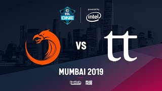 TNC vs Team Team, ESL One Mumbai 2019, bo3, game 1 [Smile & Godhunt]