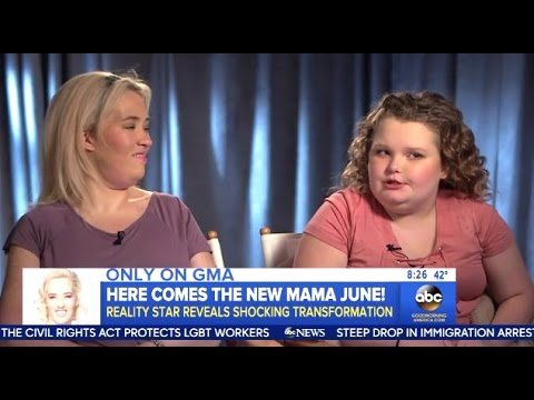 Mama June - Chats Her Huge Weight Loss - GMA