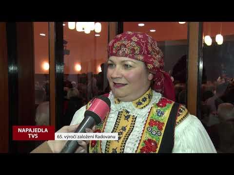 TVS: Napajedla - 65. výročí založení folklorního souboru Radovan
