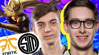TSM Bjergsen and team take on Caps and Fnatic for the first time at Rift Rivals 2017. Can Bjergsen's Syndra and Doublelift's Ashe take down Fnatic in their home turf?