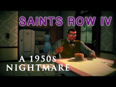 1950s - What's the worst thing that could happen to the leader of the Saints? Being stuck in 1950s America, that's what! -- For the latest video game news visit: htt...