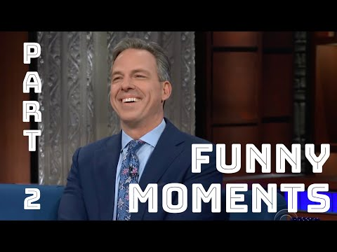 JAKE TAPPER FUNNY MOMENTS (PART 2)
