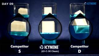 Mousse ICYNENE vs concurrents