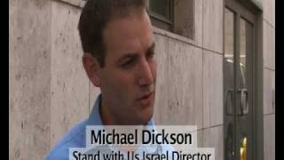 Revelation TV interview about sea demonstration against Hamas (2010)