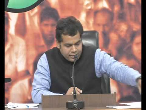 Press Conference by Shri Shrikant Sharma in BJP HQ : 12.12.2015