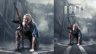 Nonton Movie Poster Photoshop Tutorial - Brave Film Subtitle Indonesia Streaming Movie Download