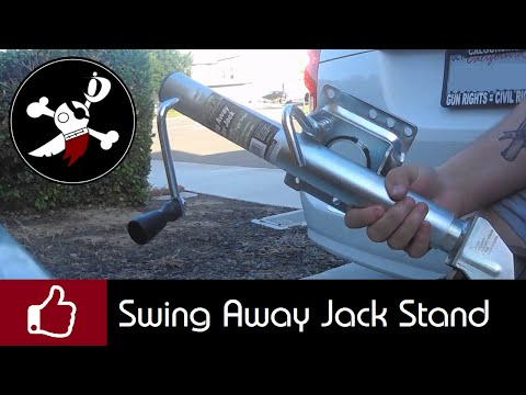 Trailer Upgrade - Swing Away Jack Stand
