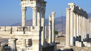 Bergama Turkey  city photos : Bergama - Pergamon - Akropol - Acropolis - Świątynia Trajana - Teatr - Turcja - Turkey