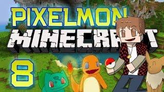 Minecraft: Pixelmon Let's Play w/Mitch! Ep. 8 - LICK MY TONGUE! (Pokemon Mod)