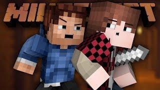 EPIC UNDERGROUND FIGHT! (Minecraft Epic Battle-Arena PART 2 with Mitch, Jerome, Preston, and Woof)
