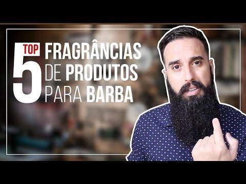 TOP 5 FRAGRÂNCIAs de produtos para CUIDADOS com a BARBA