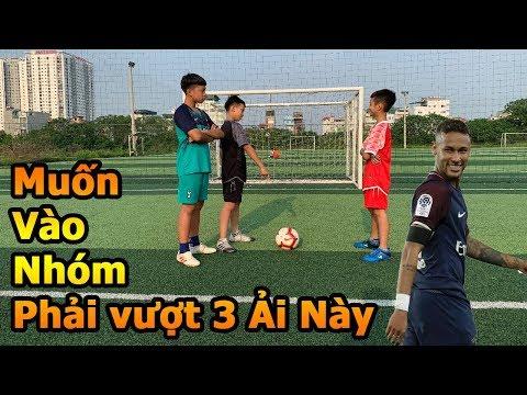Thử Thách Bóng Đá Neymar nhí vượt ải của Đỗ Kim Phúc và Bùi Tiến Dũng Nhí để vào Team DKP Việt Nam - Thời lượng: 10:28.